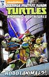 Teenage Mutant Ninja Turtles Amazing Adventures Robotanimals #3 Cover B Variant Billy Martin Cover