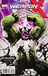 Weapon X Vol 3 #8 Cover B Variant Greg Land Venomized Weapon H Cover