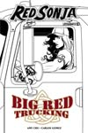Red Sonja Vol 7 #9 Cover G Incentive Mike McKone Black & White Cover