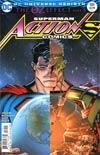 Action Comics Vol 2 #989 Cover B Variant Nick Bradshaw Non-Lenticular Cover