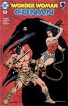 Wonder Woman Conan #2 Cover B Variant Aaron Lopresti Cover