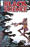 Black Science #32 Cover C Variant James Harren Walking Dead 5 Tribute Color Cover