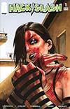 Hack Slash Resurrection #1 Cover C Variant Jim Rugg Walking Dead 23 Tribute Color Cover