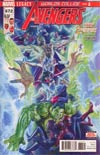 Avengers Vol 6 #672 Cover A Regular Alex Ross Cover (Worlds Collide Part 1)(Marvel Legacy Tie-In)