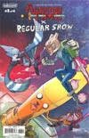Adventure Time Regular Show #3 Cover C Variant Peter Nguyen Subscription Cover