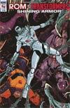 ROM vs Transformers Shining Armor #4 Cover A Regular Alex Milne Cover