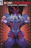 ROM vs Transformers Shining Armor #4 Cover B Variant Nick Roche Cover