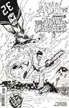 Ash vs The Army Of Darkness #4 Cover D Incentive Mauro Vargas Black & White Cover