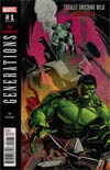 Generations Banner Hulk & Totally Awesome Hulk #1 Cover D Incentive Matteo Buffagni Variant Cover