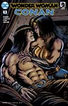 Wonder Woman Conan #3 Cover A Regular Darick Robertson Cover