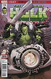 Incredible Hulk Vol 4 #710 Cover A Regular Greg Land Cover (Marvel Legacy Tie-In)