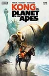 Kong On The Planet Of The Apes #1 Cover A Regular Mike Huddleston Cover