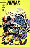 Ninjak Vol 3 #0 Cover E Incentive Peter Bagge Variant Cover