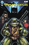 Batman Teenage Mutant Ninja Turtles II #1 Cover B Variant Kevin Eastman Cover