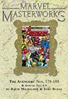 Marvel Masterworks Avengers Vol 18 HC Variant Dust Jacket