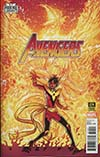 Avengers Vol 6 #674 Cover B Variant Brent Schoonover Phoenix Cover (Marvel Legacy Tie-In)