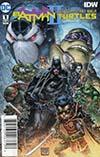 Batman Teenage Mutant Ninja Turtles II #1 Cover C DF Signed By James Tynion IV