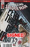 Amazing Spider-Man Vol 4 #789 Cover F DF Signed By Stan Lee & John Romita Sr