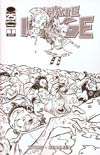 I Hate Fairyland Special Edition Cover D Variant Skottie Young Walking Dead 100 Tribute Black & White Cover