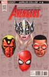 Avengers Vol 6 #672 Cover C Incentive Mike McKone Legacy Headshot Variant Cover (Worlds Collide Part 1)(Marvel Legacy Tie-In)