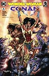Wonder Woman Conan #5 Cover B Variant Neal Adams Cover