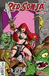 Red Sonja Vol 7 #13 Cover E Variant Fernando Ruiz Subscription Cover