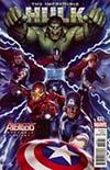Incredible Hulk Vol 4 #712 Cover B Variant Adi Granov Avengers Cover (Marvel Legacy Tie-In)