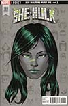 She-Hulk Vol 3 #159 Cover D Incentive Mike McKone Legacy Headshot Variant Cover (Marvel Legacy Tie-In)