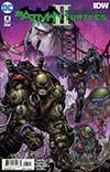 Batman Teenage Mutant Ninja Turtles II #4 Cover A Regular Freddie E Williams II Cover