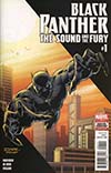 Black Panther The Sound And The Fury #1 Cover A Regular Andrea Di Vito Cover (Marvel Legacy Tie-In)