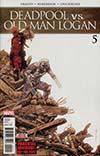Deadpool vs Old Man Logan #5 Cover A Regular Declan Shalvey Cover