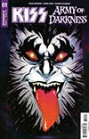 KISS Army Of Darkness #1 Cover B Variant Goni Montes Demon Necronomicon Cover