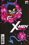 X-Men Red #1 Cover C Variant Skottie Young Baby Cover (Marvel Legacy Tie-In)