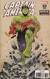 Captain America Vol 8 #698 Cover B Variant Bilquis Evely Hulk Smash Cover (Marvel Legacy Tie-In)
