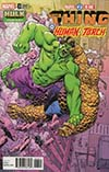 Marvel Two-In-One Vol 3 #3 Cover B Variant Mike Hawthorne Hulk Smash Cover (Marvel Legacy Tie-In)