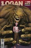 Old Man Logan Vol 2 #35 Cover B Variant Steve McNiven Hulk Smash Cover (Marvel Legacy Tie-In)