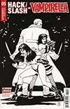 Hack Slash vs Vampirella #5 Cover D Incentive Goran Sudzuka Black & White Cover