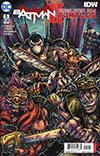 Batman Teenage Mutant Ninja Turtles II #5 Cover B Variant Kevin Eastman Cover