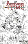Adventure Time #74 Cover B Variant Emei Burrell Subscription Cover