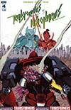 Transformers vs Visionaries #4 Cover B Variant Luca Pizzari Cover