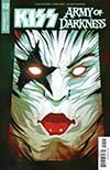 KISS Army Of Darkness #2 Cover B Variant Goni Montes Starchild Necronomicon Cover