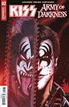 KISS Army Of Darkness #2 Cover C Variant Ken Haeser Demon Ash Cover