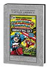 Marvel Masterworks Captain America Vol 10 HC Regular Dust Jacket