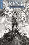 Xena Vol 2 #2 Cover C Incentive David Finch Black & White Cover