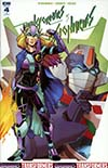 Transformers vs Visionaries #4 Cover C Incentive Brendan Cahill Variant Cover