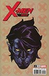 X-Men Red #2 Cover C Incentive Travis Charest Headshot Variant Cover (Marvel Legacy Tie-In)