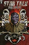 Star Trek Discovery #2 Cover C Incentive Aaron Harvey Variant Cover