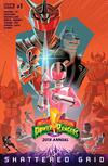 Mighty Morphin Power Rangers 2018 Annual #1 Cover A 1st Ptg Regular George Caltsoudas Cover