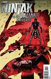 Ninjak vs The Valiant Universe #4 Cover A Regular Brian Level Cover