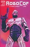 Robocop Citizens Arrest #1 Cover A Regular Nimit Malavia Cover